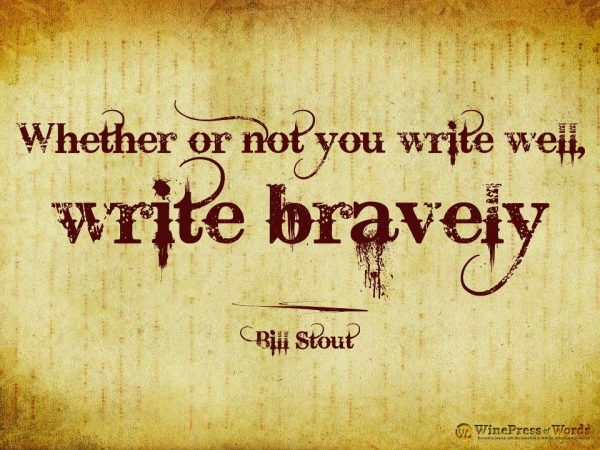 write-bravely