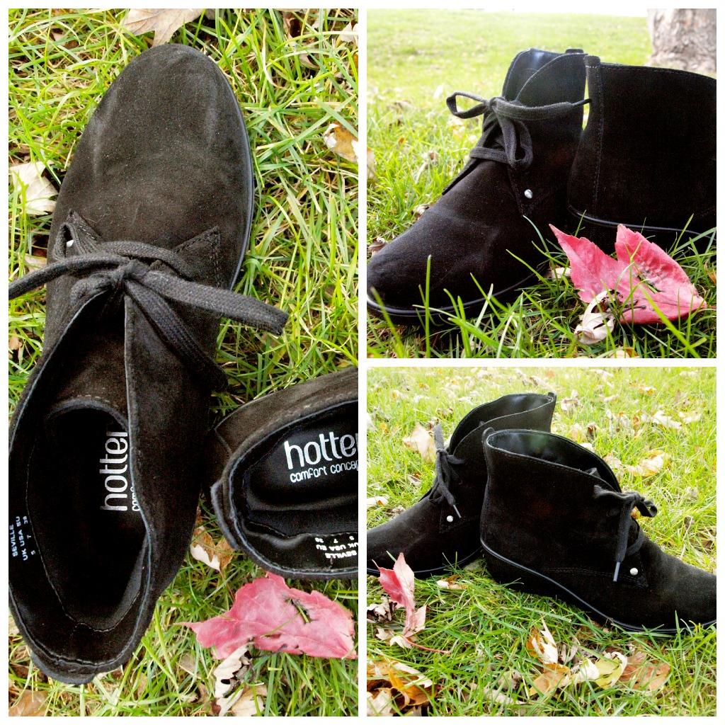 Hotter Seville Ankle Boots