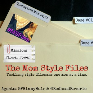 Flower Power Interview Featuring Kim: Mom Style Files {#MSFILES}