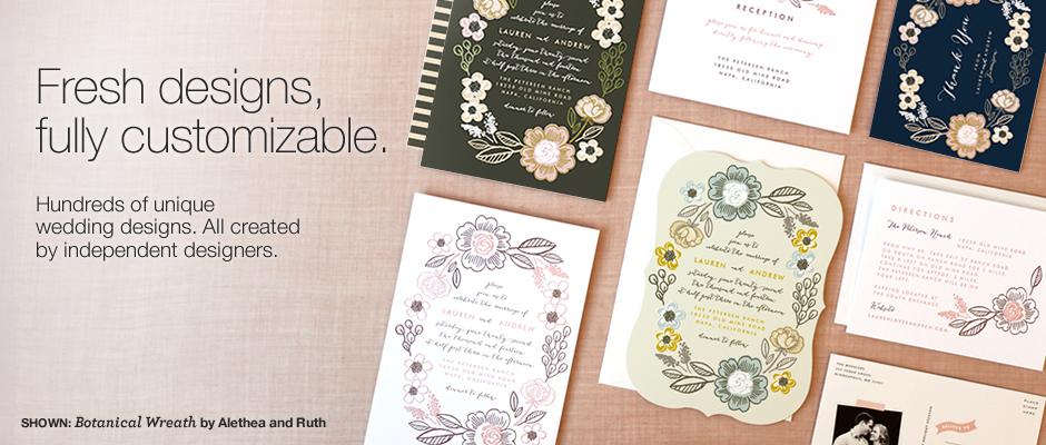 Weddings By Minted