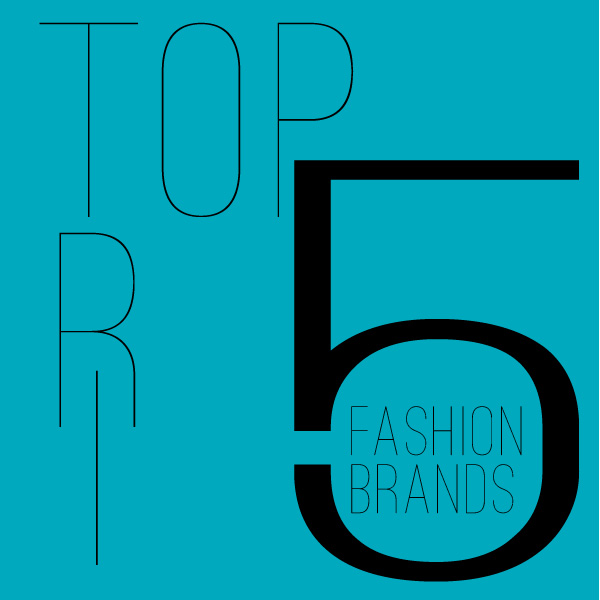Top 5 TRI Fashion Brands via Redhead Reverie