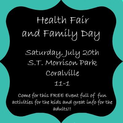 Iowa City Moms Blog Healthy Fair & Family Day