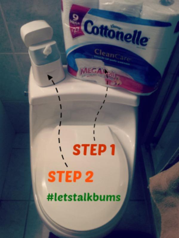 Cottonelle Cleansing System #letstalkbums