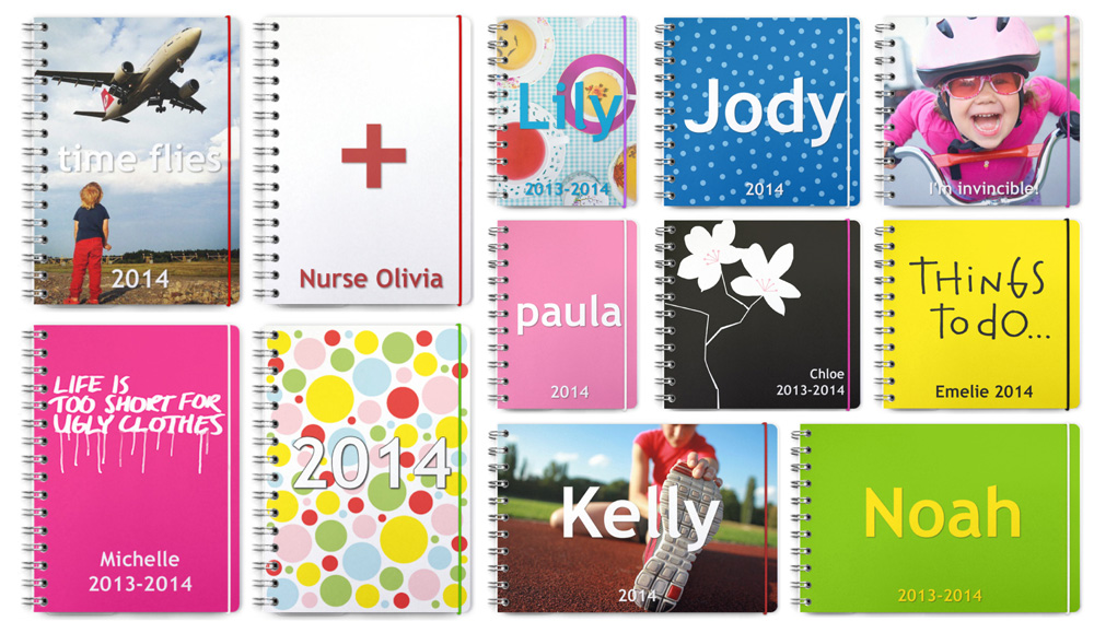Personal Planner collage