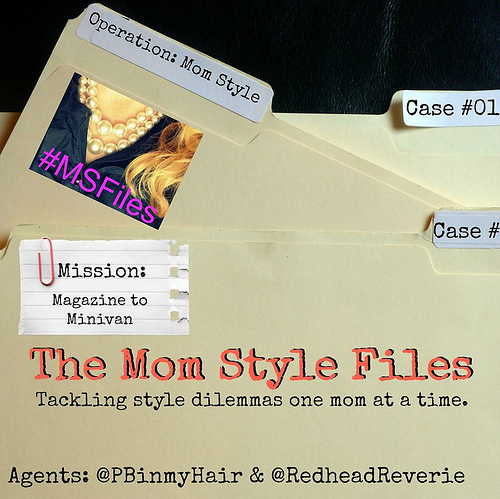 Magazine to Minivan Mom Style Files #msfiles