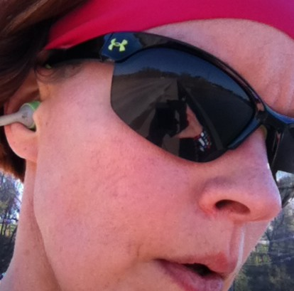 Redhead Reverie Under Armour Marbella