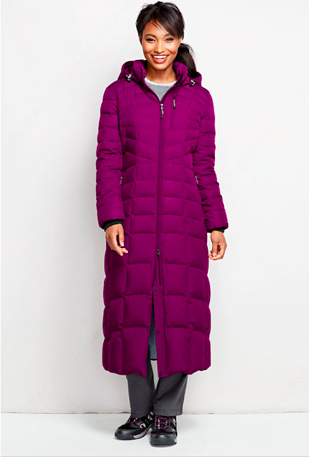 Lands End Full Length Coat